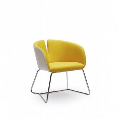 PIVOT fotel żółty
