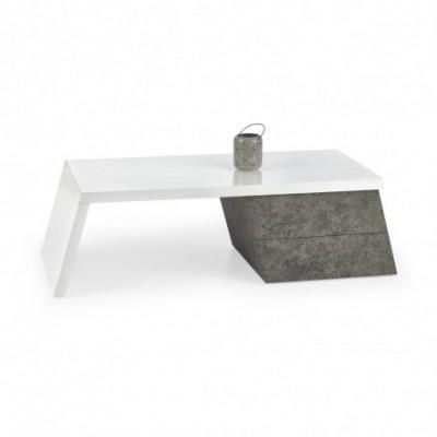 SEDIA ława biały / beton...