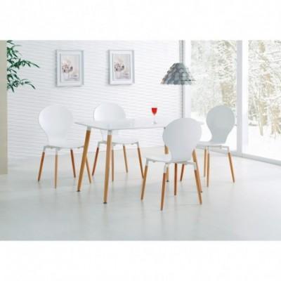 SOCRATES PROSTOKĄT stół biały