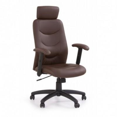 STILO fotel gabinetowy brązowy