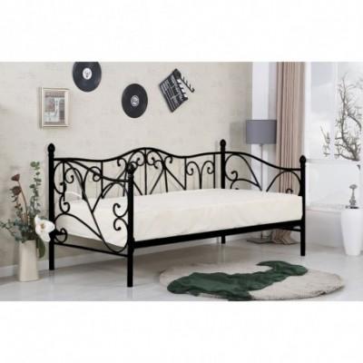 SUMATRA łóżko czarne(1p_1szt)