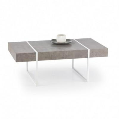 TIFFANY ława beton / biały...