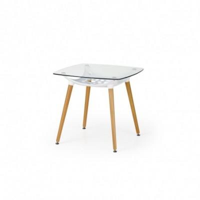 TONIC stół biały / buk