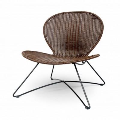 TROY fotel brązowy (1p_2szt)