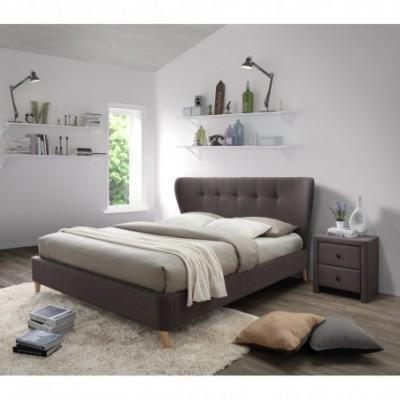 VIENA 160 łóżko brązowy...
