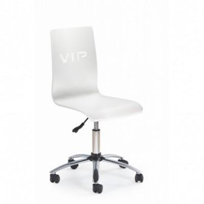 VIP fotel młodzieżowy biały