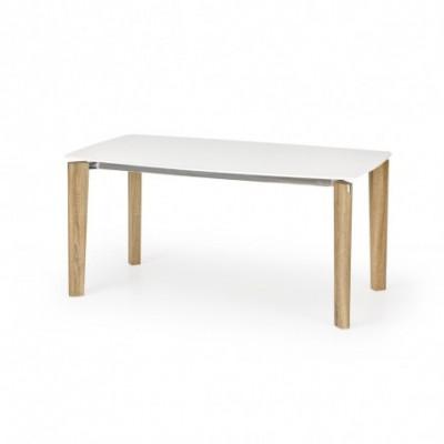 WEBER stół biały / dąb sonoma