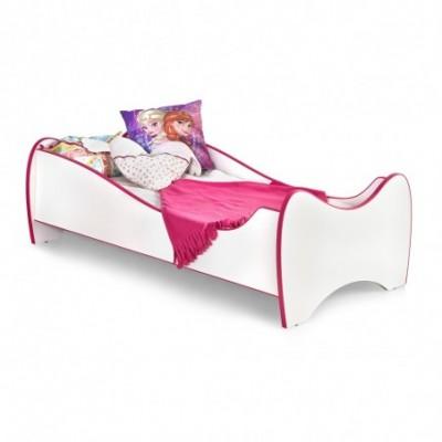 DUO łóżko biało / różowe...