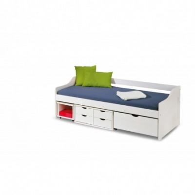 FLORO łóżko białe (3p_1szt)