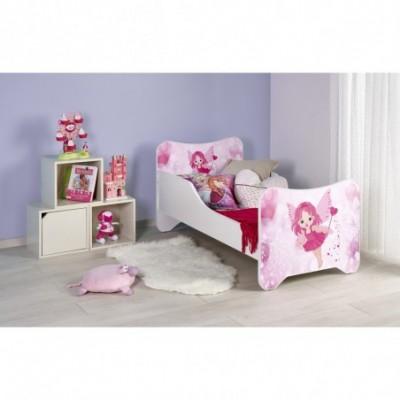 HAPPY FAIRY łóżko biało /...