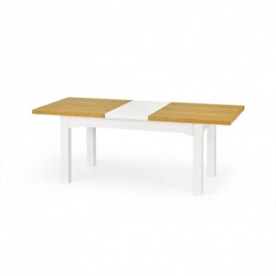LEONARDO stół biały / dąb...