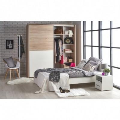 LIMA łóżko 90 biały (2p_1szt)