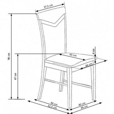 CITRONE krzesło wenge /...