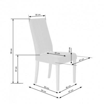 DIEGO krzesło dąb sonoma /...