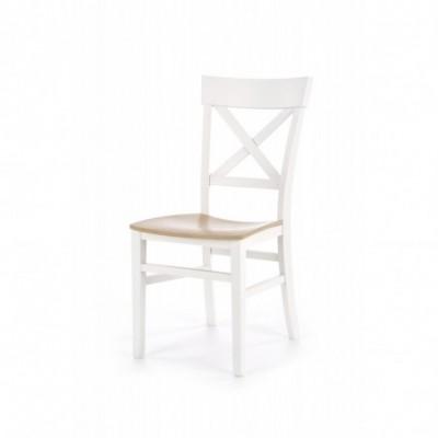 TUTTI krzesło biały / dąb...