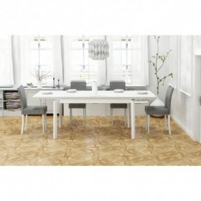 ROIS stół rozkładany biały...