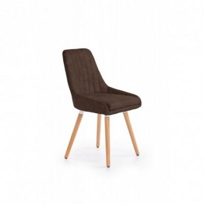 K284 krzesło brązowy (1p_2szt)