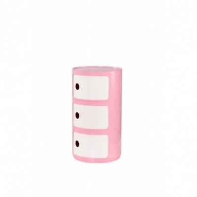 ALF kontenerek różowo-biały...