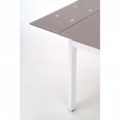 ALSTON stół beżowy/biały...
