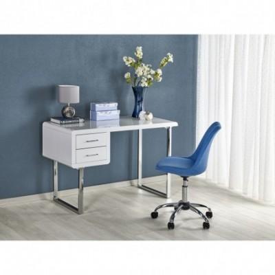 B30 biurko biały-chrom...