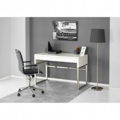 B32 biurko biały-chrom...